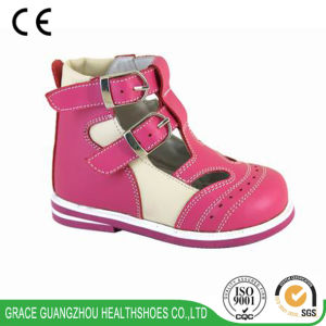 Grace Ortho Colorful Hook and Loop Orthopedic Shoes (4609215-2) pictures & photos
