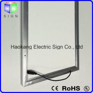Light Box Sign for Advertising Display with Aluminum Picture Frame pictures & photos