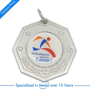 Stamping Silver Souvenir Running Sport Medal pictures & photos