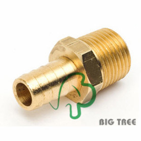 Brass Male Hose Barb Fitting/Connector pictures & photos