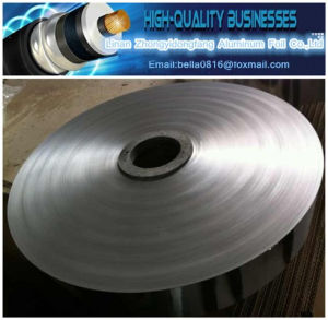 15 Years Manufacturing Experience Cable Aluminum Coated Polyester Film Pet Laminated Aluminum Foil Cable Foil pictures & photos