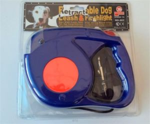 High Pulling LED Retractable Dog Leash with Torch 2016 pictures & photos