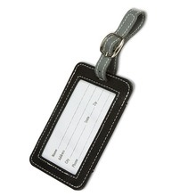 Metal Buckle Strap Leather Bulk Luggage Tags pictures & photos