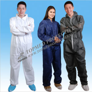 Nonwoven Boiler Suit or Overalls for Oil Workers pictures & photos