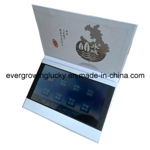 Touch Screen Video Card with 10.1inch LCD pictures & photos