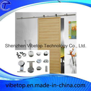 Stainless Steel Wood Sliding Barn Door Hardware pictures & photos