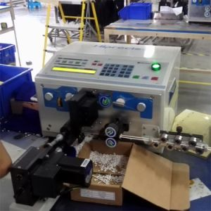 High Precision Wire Cable Cutting & Stripping & Twisting Machine pictures & photos