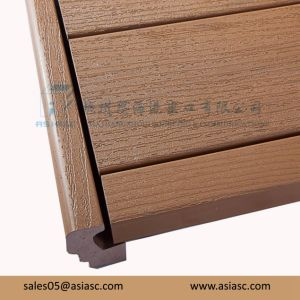 Co-Extruded WPC Wood Plastic Composite Flooring pictures & photos