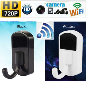 HD 720p WiFi IP Video Recorder Mini Camera Monitor Security Cam Clothes Hook DVR pictures & photos