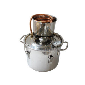 8L/2gal Stainless Steel Alcohol Ethanol Distillation Equipment Home Moonshine Still pictures & photos