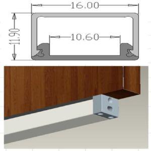1612 LED Kitchen Cabinet Light LED Aluminium Profile Aluminium Extrusion pictures & photos