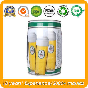 Metal Tin Pail Tinplate Bucket for 5L Beer Keg pictures & photos