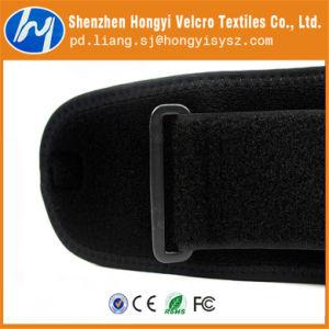 Nylon Durable Adjustable Black Elastic Loop Fastener Tape pictures & photos