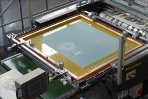 Automatic Stop Cylinder Screen Printing Machine Jb-1050A pictures & photos