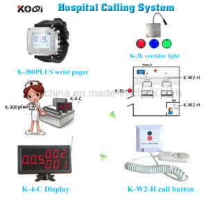 433.92 MHz Hospital Patient Call Button Nurse Calling System pictures & photos