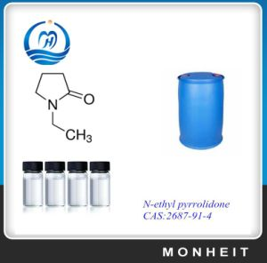 Competitive Price of 99.5% Electric Grade N-Ethyl-2-Pyrrolidone (NEP) CAS 2687-91-4 pictures & photos