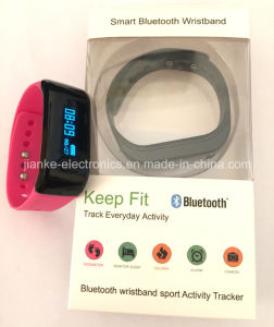 Water Resistant Smart Bluetooth Bracelet with Logo Printed (4005) pictures & photos