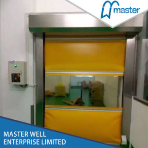 Auto Fast PVC Roller Shutter Door High Speed Door pictures & photos