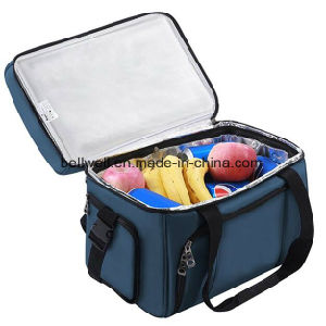 Arrivals Dual Insulated Compartment Outdoor Travel Lunch Cooler Bag pictures & photos
