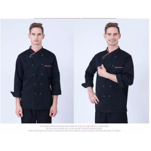 High Grade Manufacturer Work Design Chef Uniform with Cotton pictures & photos