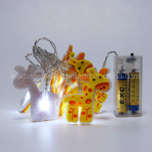 Deer Fairy Lights Fairy String Lights Battery Operated Waterproof 60 LED 20FT pictures & photos