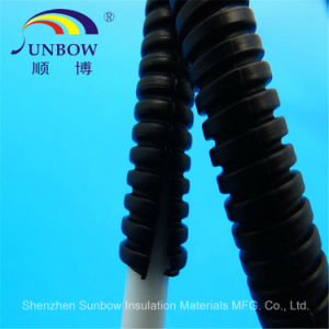 RoHS Plastic Split Flexible Corrugated Electrical Conduit Pipes pictures & photos