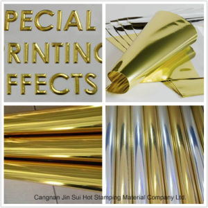 Hot Stamping Foil for Paper/Plastic/Leather/Textile/Fabrics pictures & photos