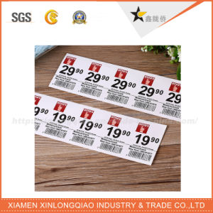 White Vinyl Paper Sticker Label Printing Self Adhesive Label pictures & photos