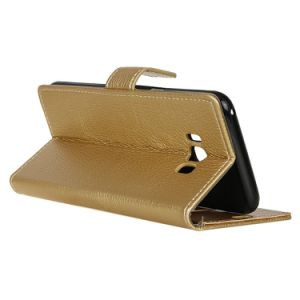 Litchi Texture PU Leather Magnetic Flip Cards Slot Wallet Cover Case for Samsung Galaxy S8 pictures & photos