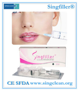 Ce Singfiller Injection Hyaluronic Acid Dermal Filler for Lip Fullness (2.0ml) pictures & photos