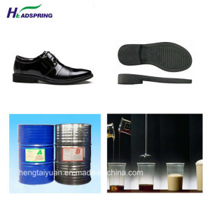 PU Resin for Shoe Sole/ Polyurethane Resin for Ladies Shoe Sole a-5080/B-5220 pictures & photos