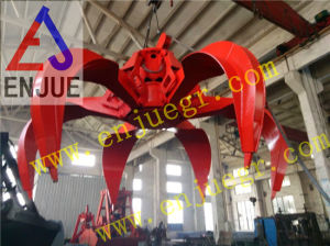 Power Plant Use Motor Hydraulic Multi-Pedaled Lotus Shape Grab Multi-Petal Grab pictures & photos
