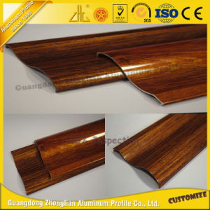 Aluminum Extrusion Wood Grain Profile for Aluminum Sliding Window pictures & photos