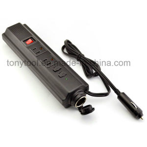 12V 150W DC to AC Power Inverter with Two AC Outlets and Two USB Ports pictures & photos