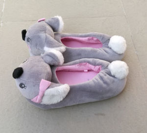 Novelty Bear Shape Animal Kids Home Slipper pictures & photos