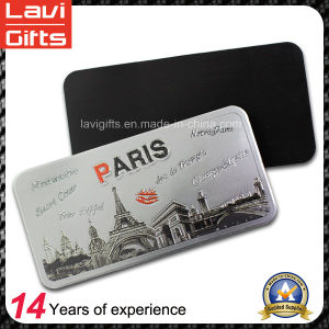 High Quality Paper Printing Fridge Magnet with Eiffel Tower pictures & photos
