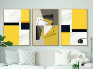 Decor Painting Abstract Decorative Oil Painting, Varied Geometrics Painting pictures & photos