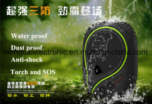 7000mAh Waterproof Dustproof Shockproof with Torch and Sos Multi Funcitonal Ce FCC RoHS Certified Rechargeable mobile Phone Battery Power Bank