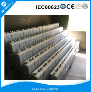 Nickel Cadmium Industrial Battery Gnz200 for Substation pictures & photos