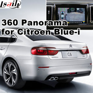 Rear View & 360 Panorama Interface for New Citroen C4 C6 with blue-I System Lvds RGB Signal Input Cast Screen pictures & photos