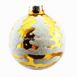 80mm Colorful Glass Christmas Ball Decoration, 2016 New Design, Christmas Design pictures & photos