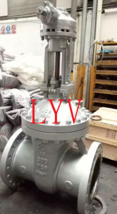 Cast Steel Dn350 Flanged Gate Valve
