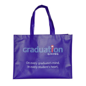 Handle Non Woven Shopping Bag with Customized Printing pictures & photos