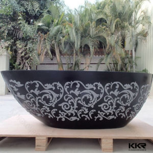 Kkr Wholesale Solid Surface Freestanding Bathtub pictures & photos