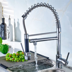 Flg High Quality Chrome Handle/Hole Kitchen Sink Faucet pictures & photos