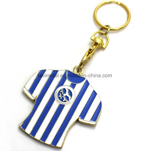 Promotion Colorful Metal T-Shirt Shape Keychain pictures & photos