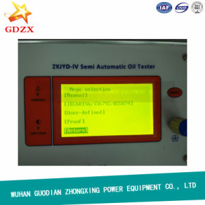 80kV Automatic Single Cup Insulating Oil breakdown Voltage Tester pictures & photos