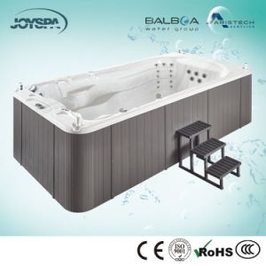 New Design Acrylic Medium Size China Endless Pool Hot Tub Sex Swim SPA Jy8803 pictures & photos