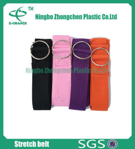 Adjustable Cotton Webbing Yoga Strap Fitness Training Strap pictures & photos