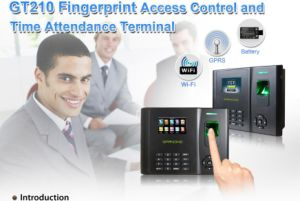 Fingerprint Time Attendance and Access Control System with GPRS WiFi pictures & photos